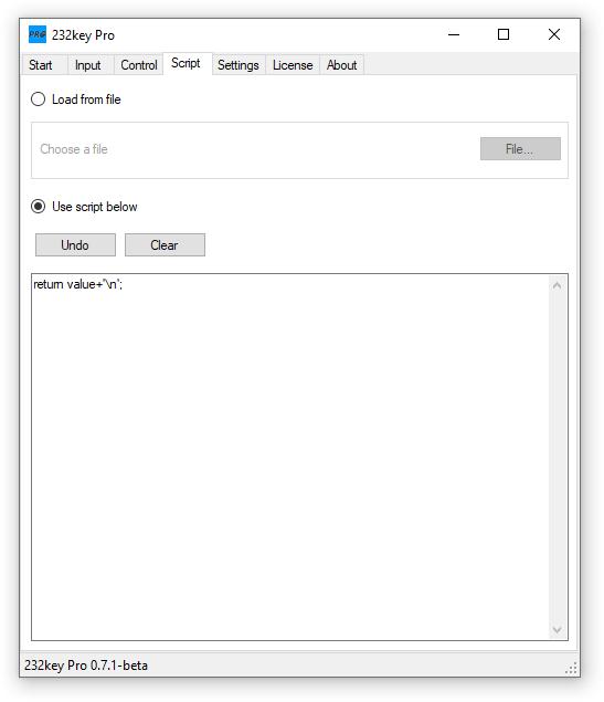 232key Pro script tab