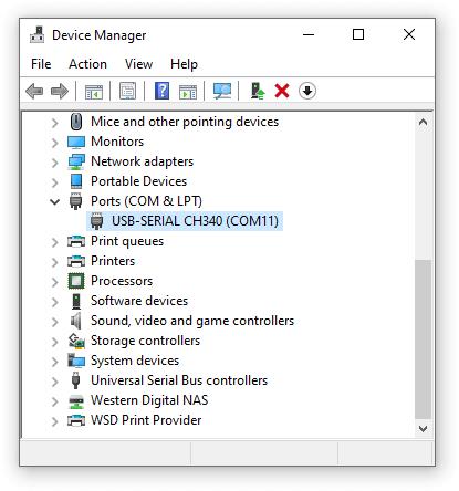 MyWeigh UltraShip-U2 virtual COM port