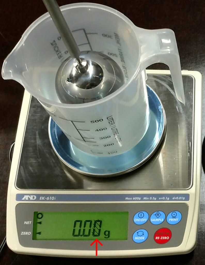A&D EK-610i approved class II weighing instrument