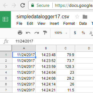 Open in Excel, Google Sheets